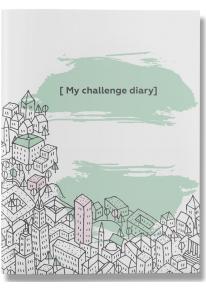 """Ежедневник-книга  """"My challenge diary"""" фото"""