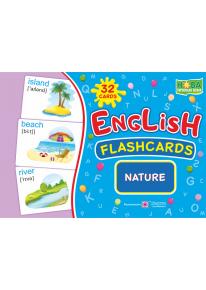 English : flashcards. Nature (флеш-картки Природа) фото