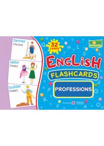 English : flashcards. Professions (флеш-картки Професії) фото