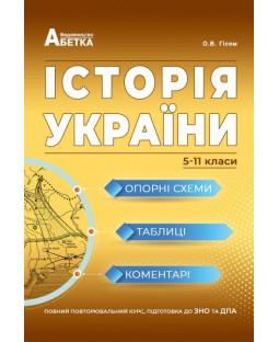 Історія України. Опорні схеми, таблиці, коментарі. 5-11 класи фото