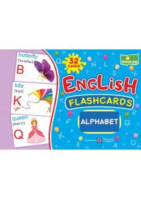 English : flashcards. Alphabet (флеш-картки Алфавіт) фото