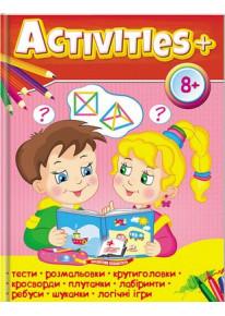 """Книга """"Activities 8+"""" фото"""