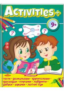 """Книга """"Activities 9+"""" фото"""