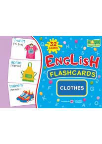 English : flashcards. Clothes (флеш-картки Одяг) фото
